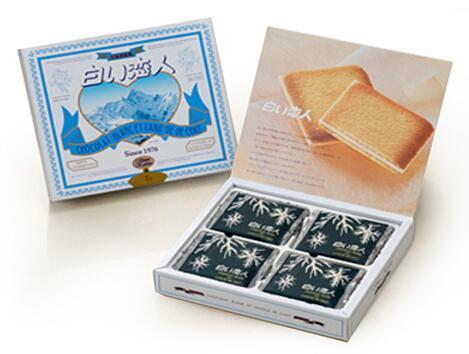 日本北海道甜品,追女生必备神器——白色恋人