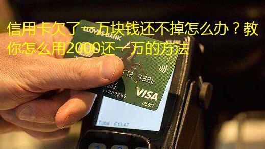 信用卡欠了一万块钱还不掉怎么办?教你怎么用2000还一万的方法
