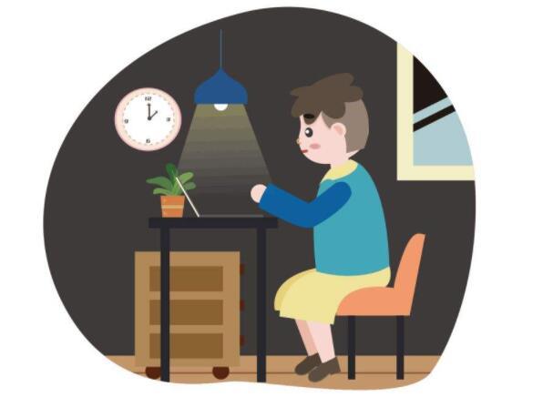 玩电脑的时候开灯好还是关灯好?不开灯对眼睛的损害