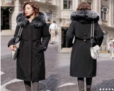 女士冬天可以穿的中长款棉服优惠福利