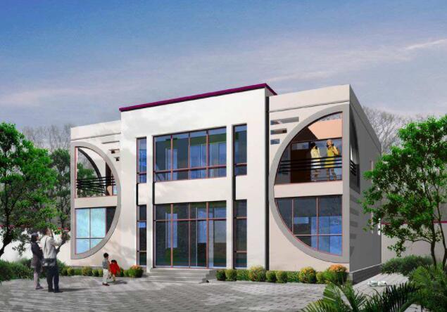 分享三款二层农村自建房设计图,仅供参考