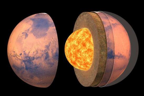 人类对火星的研究:科学家首次公布火星内部构造和地球有很大不同